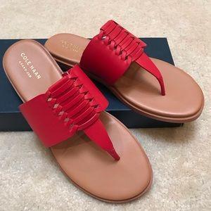 Cole Haan Felix Grand Thong Sandal Sz 7